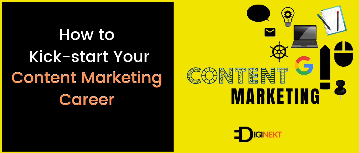 how to start content marketing career