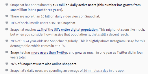 Did you know how much Snapchat users are online shoppers